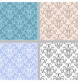 Seamless ethnic vintage pattern vector image