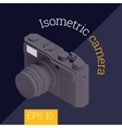 camera isometric vector image