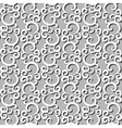 White swirls vector image vector image