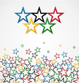 London Olympic Games background vector image