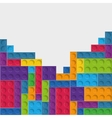Lego icon Abstract figure graphic vector image