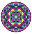 decorative design of circle dish template round vector image
