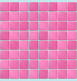 pink tile pattern vector image