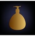 Gel Foam Or Liquid Soap vector image