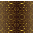seamless geometric pattern with shades of brown vector image