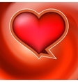Heart shaped bubbles  EPS8 vector image