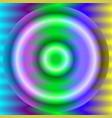 luminiscent circles on a vivid wavy backdrop vector image