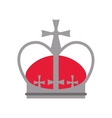 royal crown icon vector image