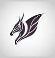 dragon logo icon vector image