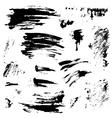 grunge set 380 vector image