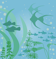fish aquarium vector image