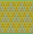 seamless pyramid pattern vector image