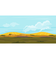Fields Game Background Landscape vector image