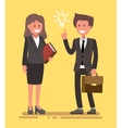 office workers vector image