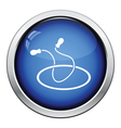 Jump rope and hoop icon vector image
