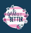 fashion slogan quotes for t-shirt apparels print vector image