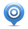 Blue Target vector image