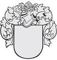 aristocratic emblem No5 vector image vector image