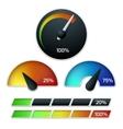 Download speedometers set vector image