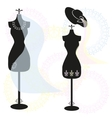 mannequins vector image