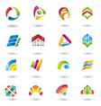 Set of design elements vector image vector image