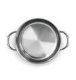 Pan top view object vector image vector image
