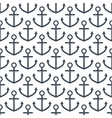 Anchor seamless pattern vector image