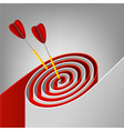abstract target vector image