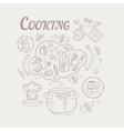 Cooking Ingredients And Attributes Set vector image