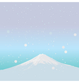 Fujiyama Landmark of JAPAN vector image
