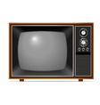 Classic TV vector image vector image