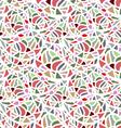 Abstract seamless mosaic texture vector image vector image