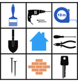 Construction Icon Set vector image