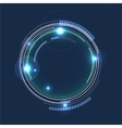 Futuristic Abstract Circles Background Stock vector image