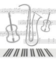 Notes viola vector image
