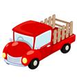 Truck vector image
