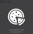 pizza premium icon vector image