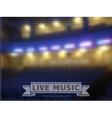 live music conctrt blur background vector image