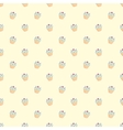 Muffin cupcake seamless wallpaper decoration vector image