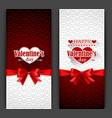 Valentines Day Cards vector image vector image