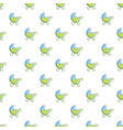 toy baby carriage pattern vector image