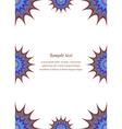 Colour page corner and border design vector image
