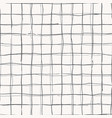 hand drawn checkered grip seamless pattern vector image vector image