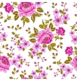 Luxurious color peony pattern vector image vector image