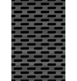 Metal grid seamless pattern vector image