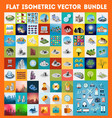 Big bundle set vector image
