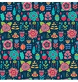 floral pattern design background with vector image