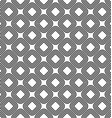 Seamless diagonal rounded square pattern vector image