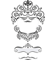 Frame in Oriental style vector image vector image