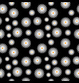 flowers background pattern vector image